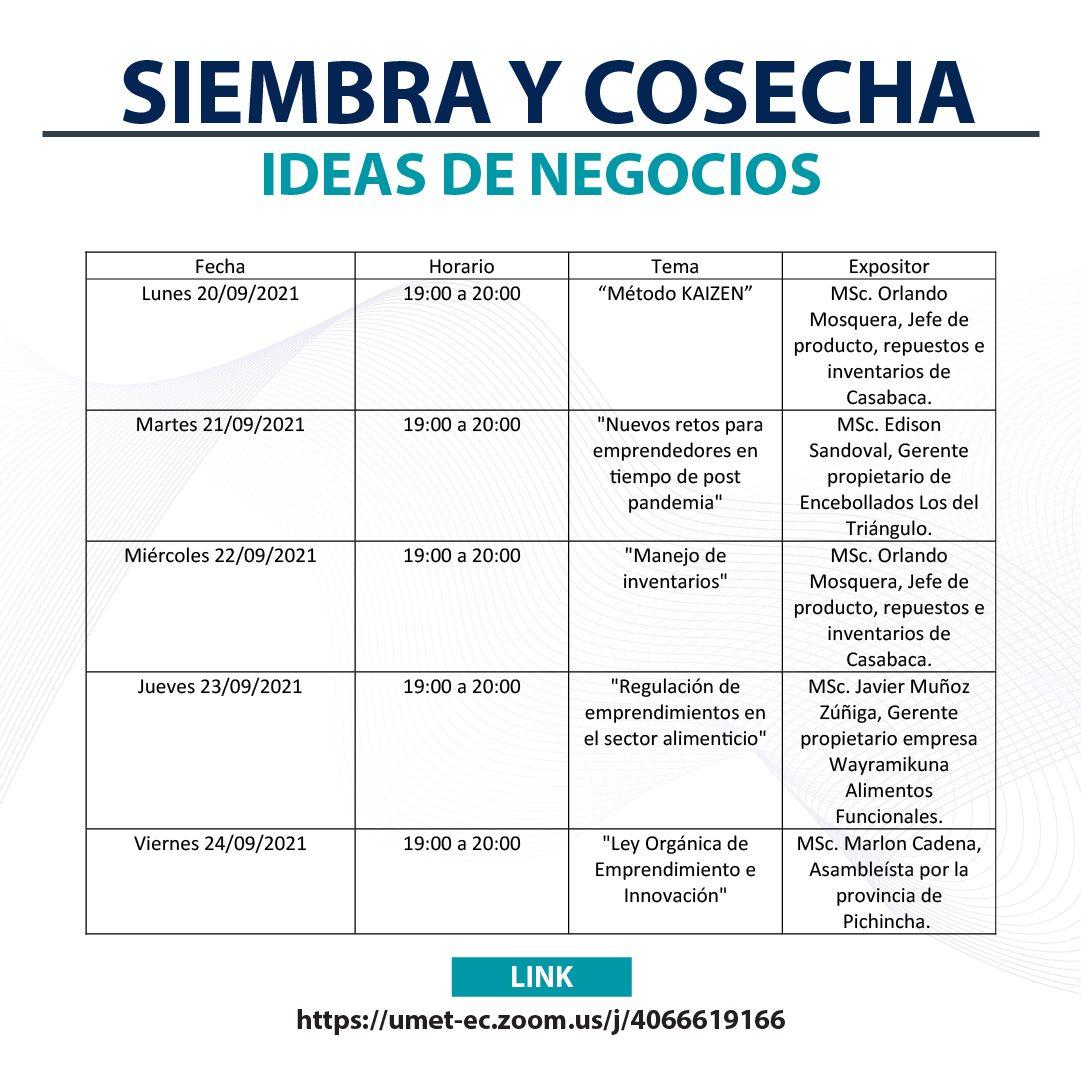 Siembra y cosecha Ideas de negocias